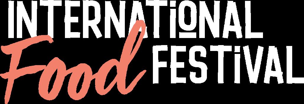 INTERNATIONAL FOOD FESTIVAL logo