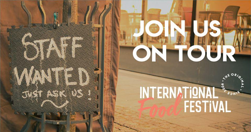 Personal söks marknad international food festival mat